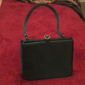 Vintage Green Lewis Handbag